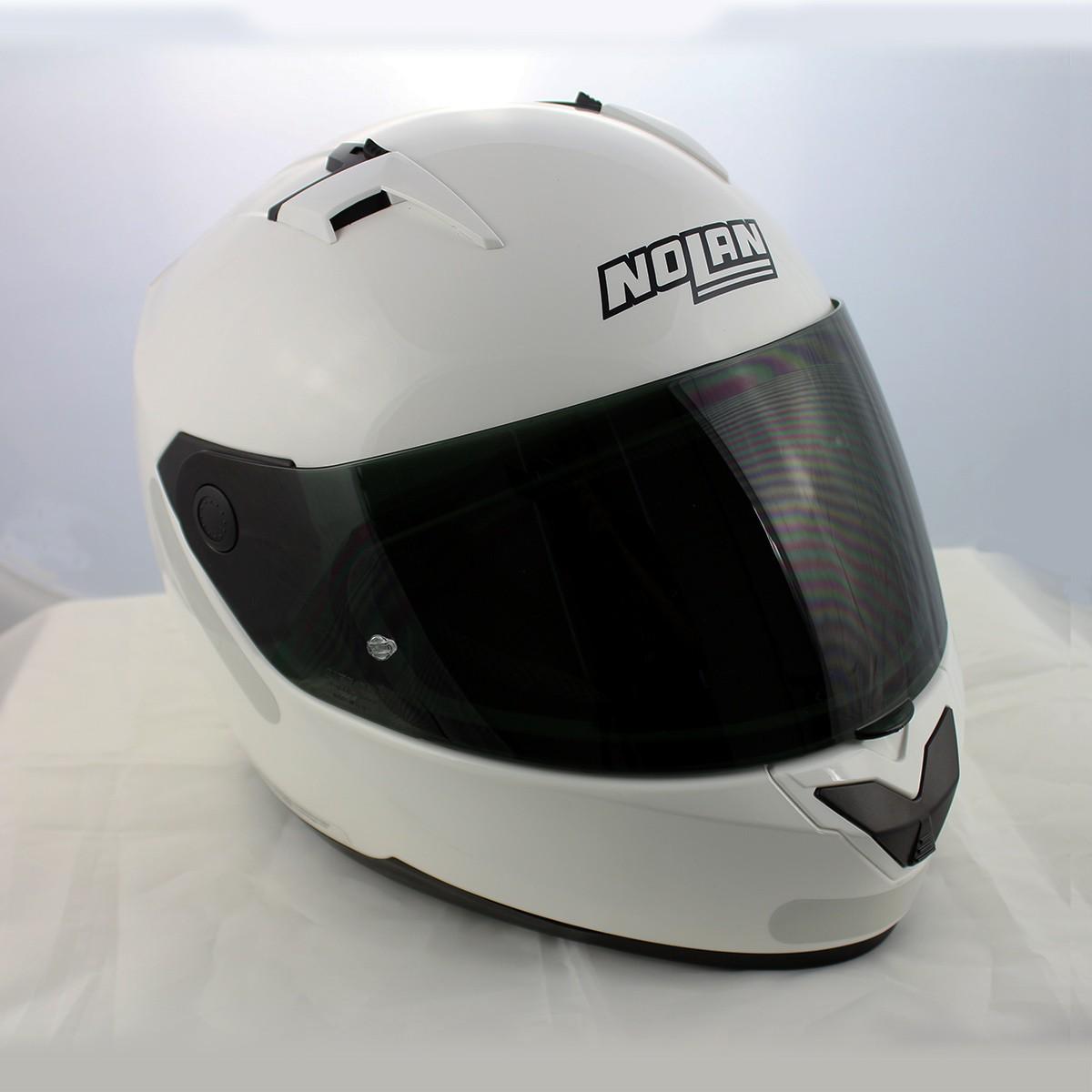 Capacete Nolan N64 Sport White - Ganhe Balaclava Exclusiva!   - Planet Bike Shop Moto Acessórios