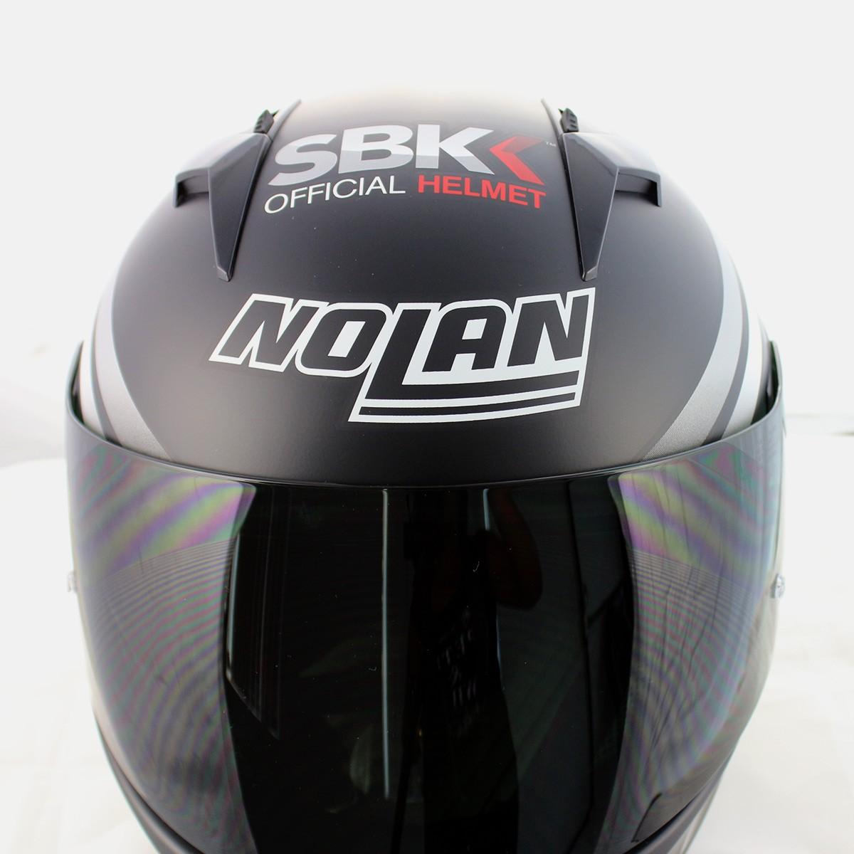 Capacete Nolan N64 Superbike SBK Flat Black   - Planet Bike Shop Moto Acessórios