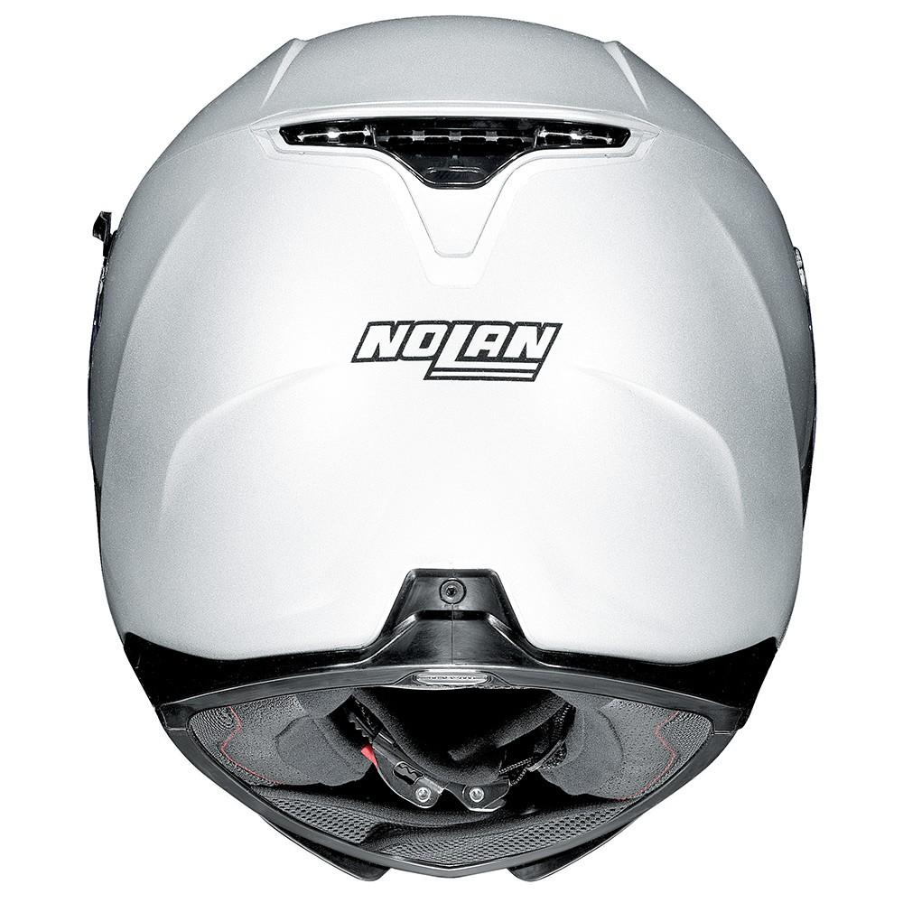 CAPACETE NOLAN N87 CLASSIC - METAL WHITE - Ganhe Balaclava Exclusiva!  - Planet Bike Shop Moto Acessórios