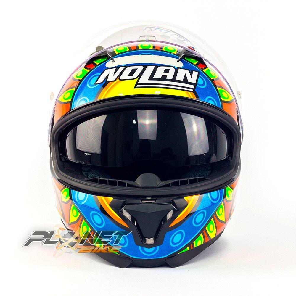 Capacete Nolan N87 Gemini Davies Réplica Oficial C/ Viseira Solar (Ganhe Pinlock + Touca Balaclava)  - Planet Bike Shop Moto Acessórios