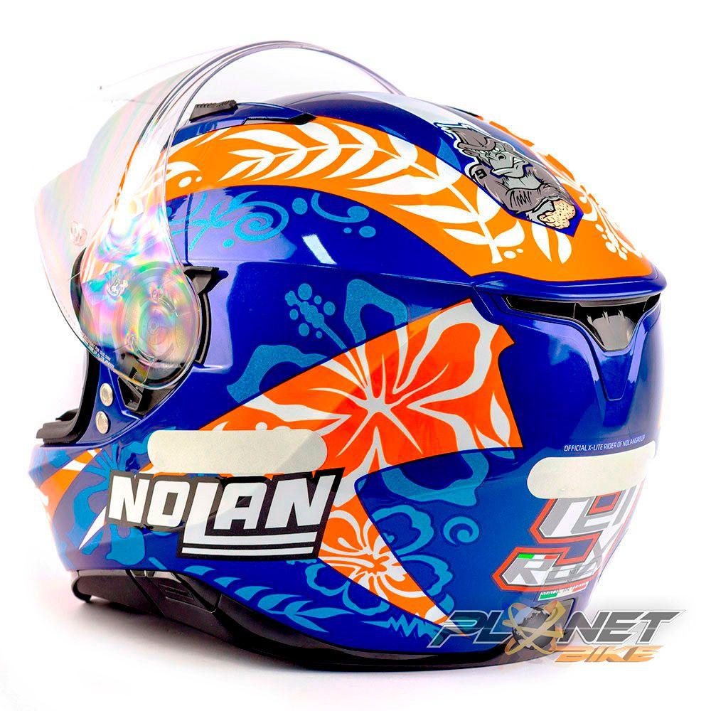Capacete Nolan N87 Petrucci Oficial C/ Viseira Solar (Ganhe Pinlock + Touca Balaclava)  - Planet Bike Shop Moto Acessórios