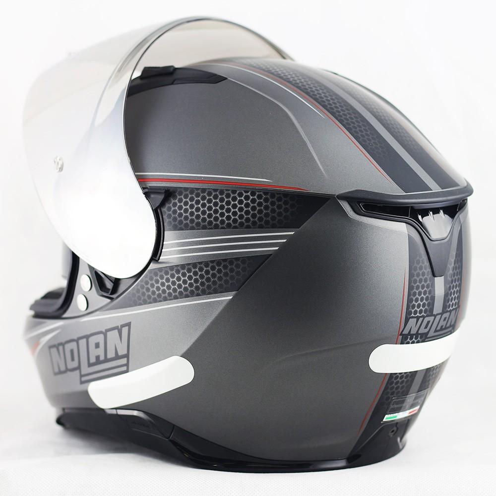 Capacete Nolan N87 Rapid Flat Lava Grey - Ganhe Balaclava Exclusiva!  - Planet Bike Shop Moto Acessórios