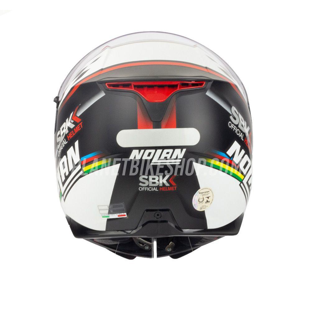 Capacete Nolan N87 Superbike (60) C/ Viseira Solar (Ganhe Pinlock + Touca Balaclava)  - Planet Bike Shop Moto Acessórios