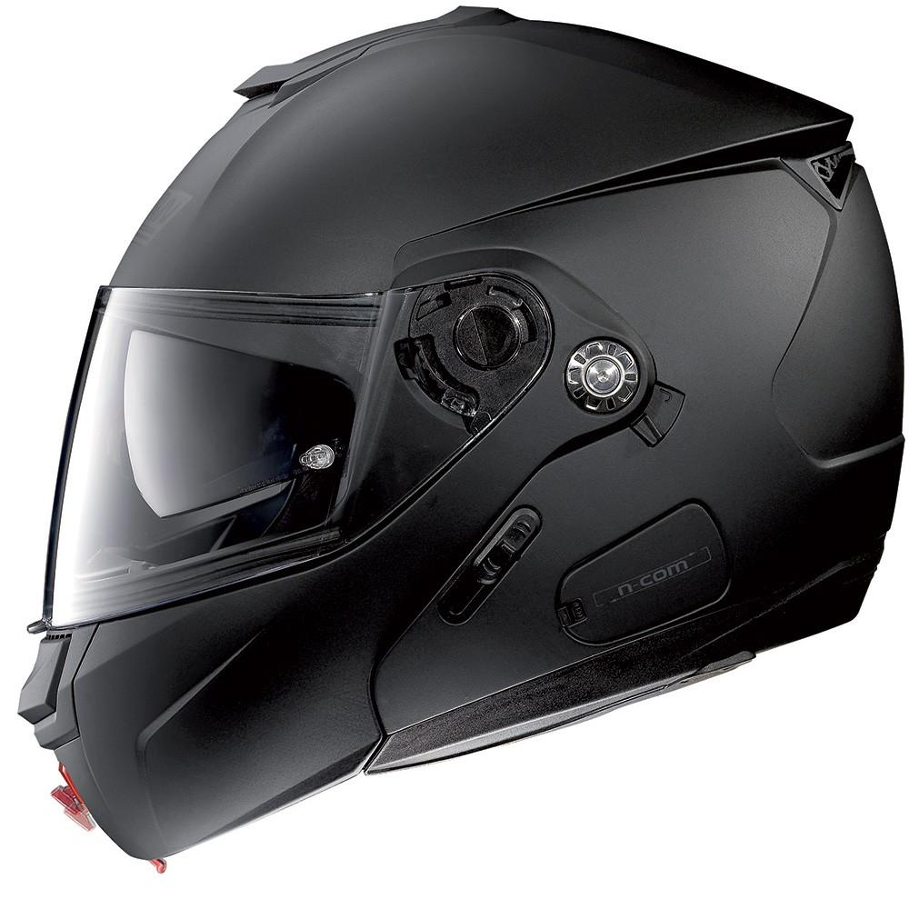 Capacete Nolan N90 Classic Preto Fosco Escamoteável Com Óculos Interno (Acompanha Pinlock)  - Planet Bike Shop Moto Acessórios
