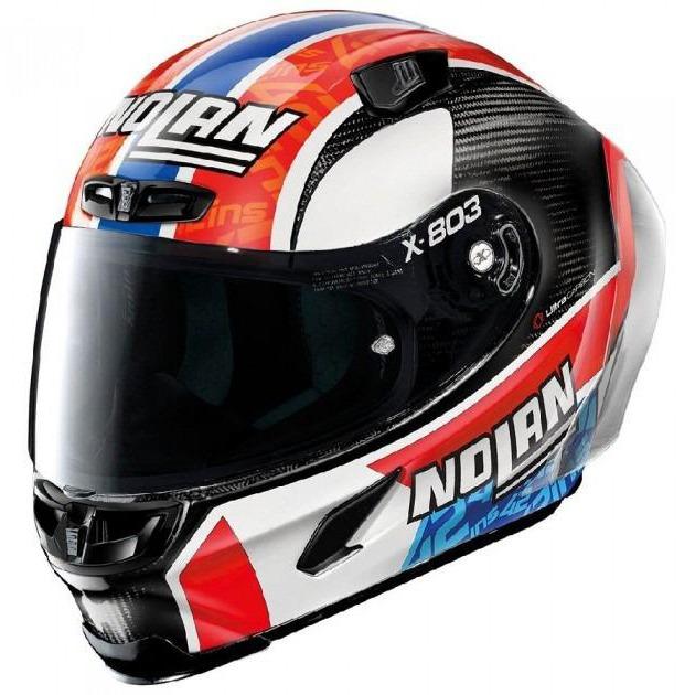 Capacete Nolan X-803 RS Ultra Carbon Alex Rins - Ganhe Touca Balaclava  - Planet Bike Shop Moto Acessórios