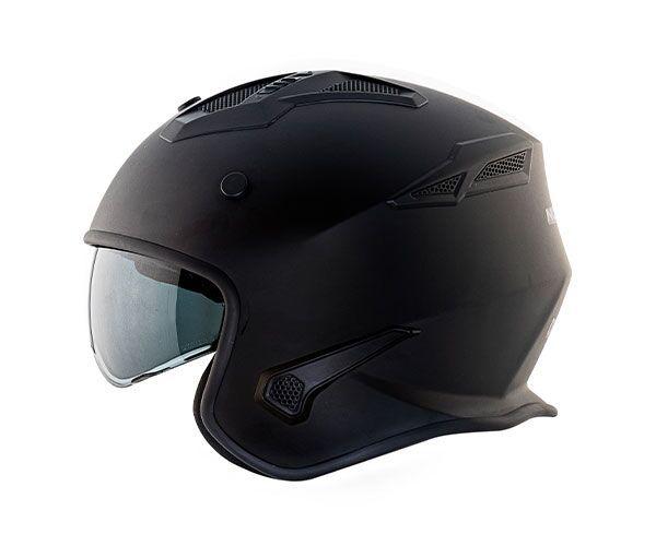Capacete Norisk Darth Matt Black - 4 em 1 - LANÇAMENTO!!!   - Planet Bike Shop Moto Acessórios