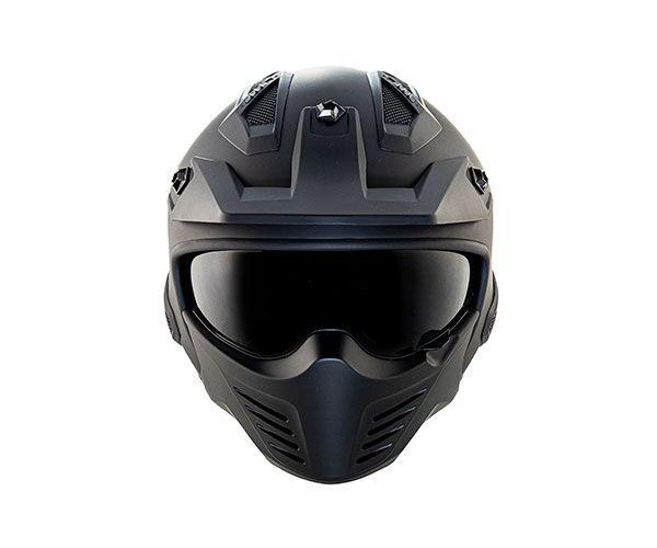 Capacete Norisk Darth Titanium - 4 em 1 - LANÇAMENTO!!!  - Planet Bike Shop Moto Acessórios