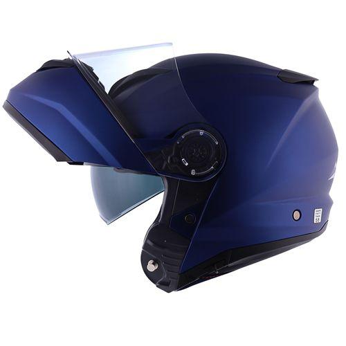 Capacete Norisk Force Azul  - Planet Bike Shop Moto Acessórios