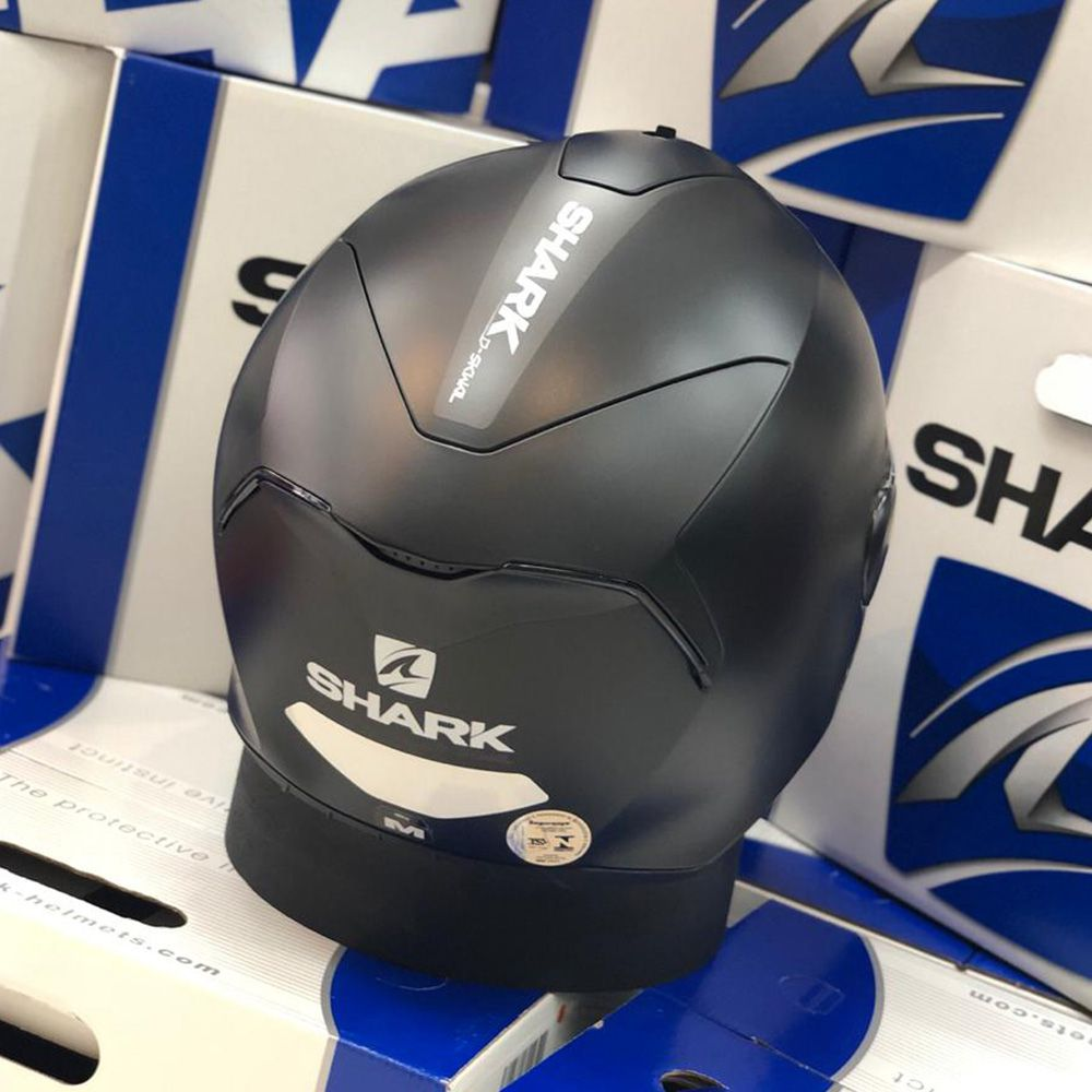 Capacete SHARK D-SKWAL BLANK MATT  - Planet Bike Shop Moto Acessórios