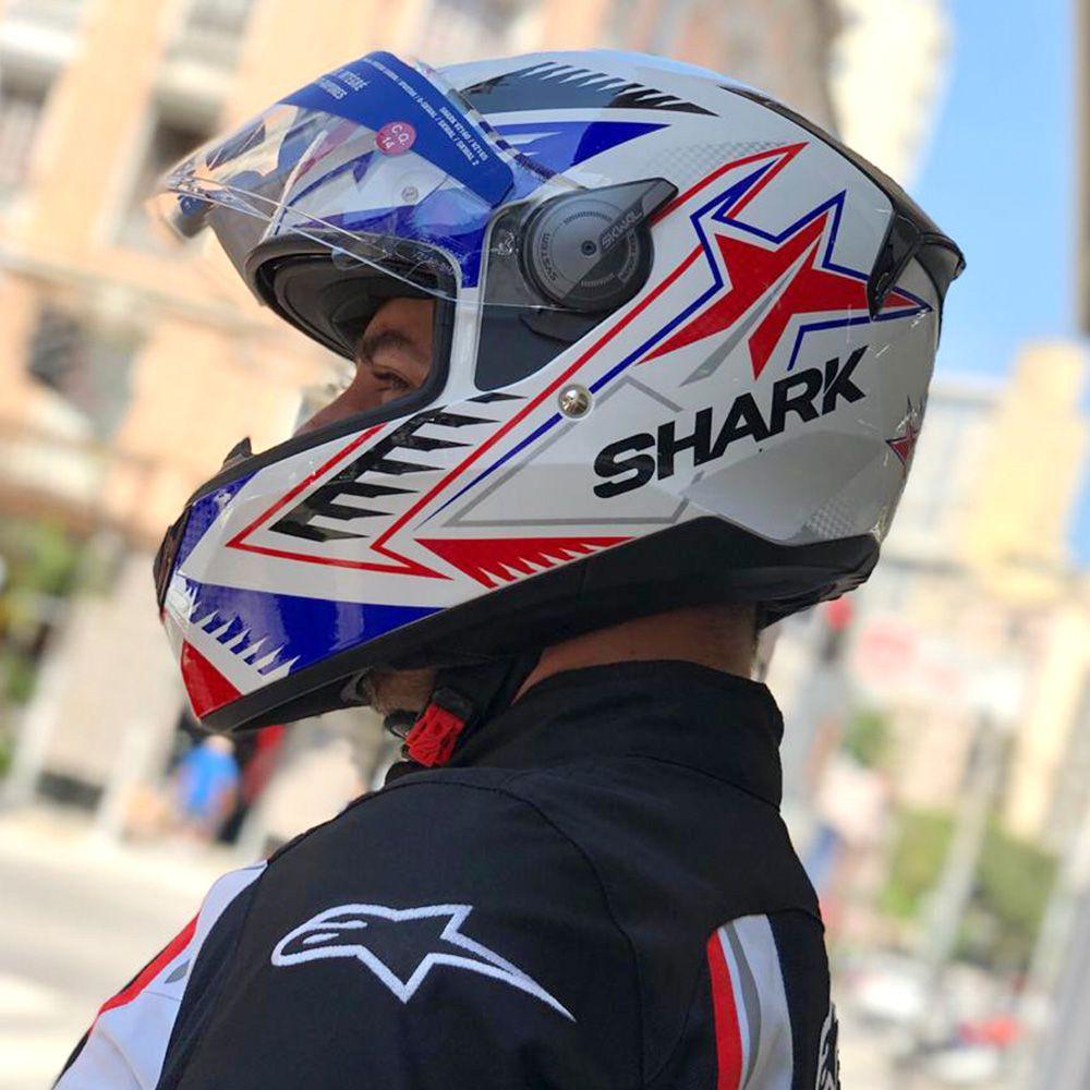 Capacete SHARK D-SKWAL DRAGHAL  - Planet Bike Shop Moto Acessórios