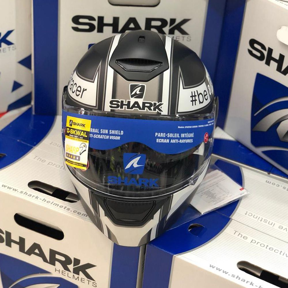 Capacete Shark D-Skwal San Lowes escamoteável  - Planet Bike Shop Moto Acessórios
