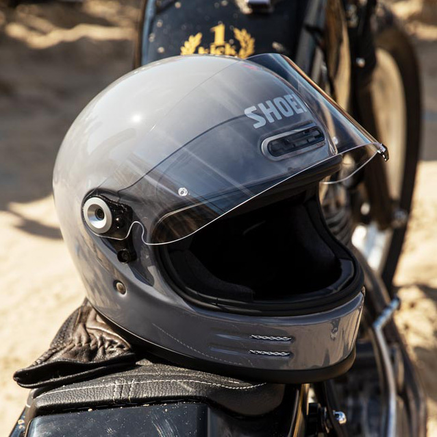 Capacete Shoei Glamster - Cinza Bassalt - LANÇAMENTO  - Planet Bike Shop Moto Acessórios