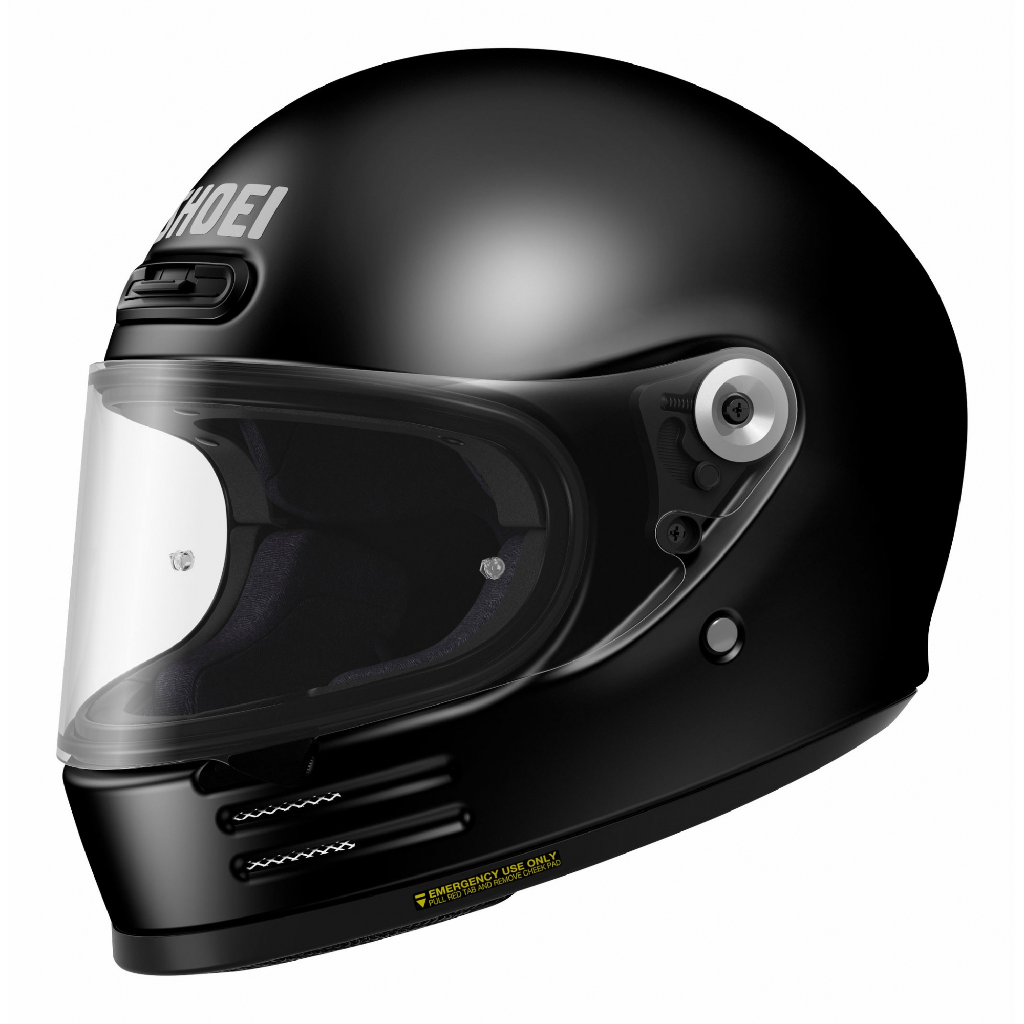 Capacete Shoei Glamster - Preto Fosco - LANÇAMENTO  - Planet Bike Shop Moto Acessórios