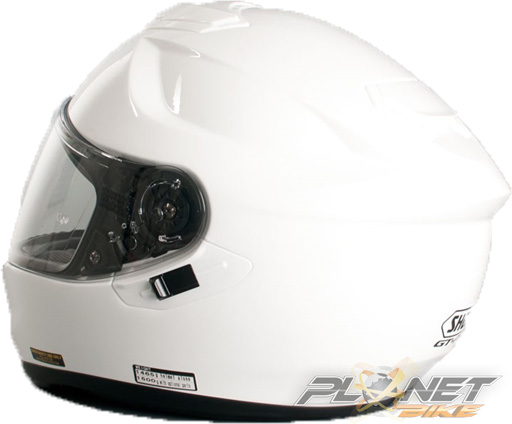Capacete Shoei GT-Air Branco com Pinlok e Viseira Solar - SuperOferta  - Planet Bike Shop Moto Acessórios