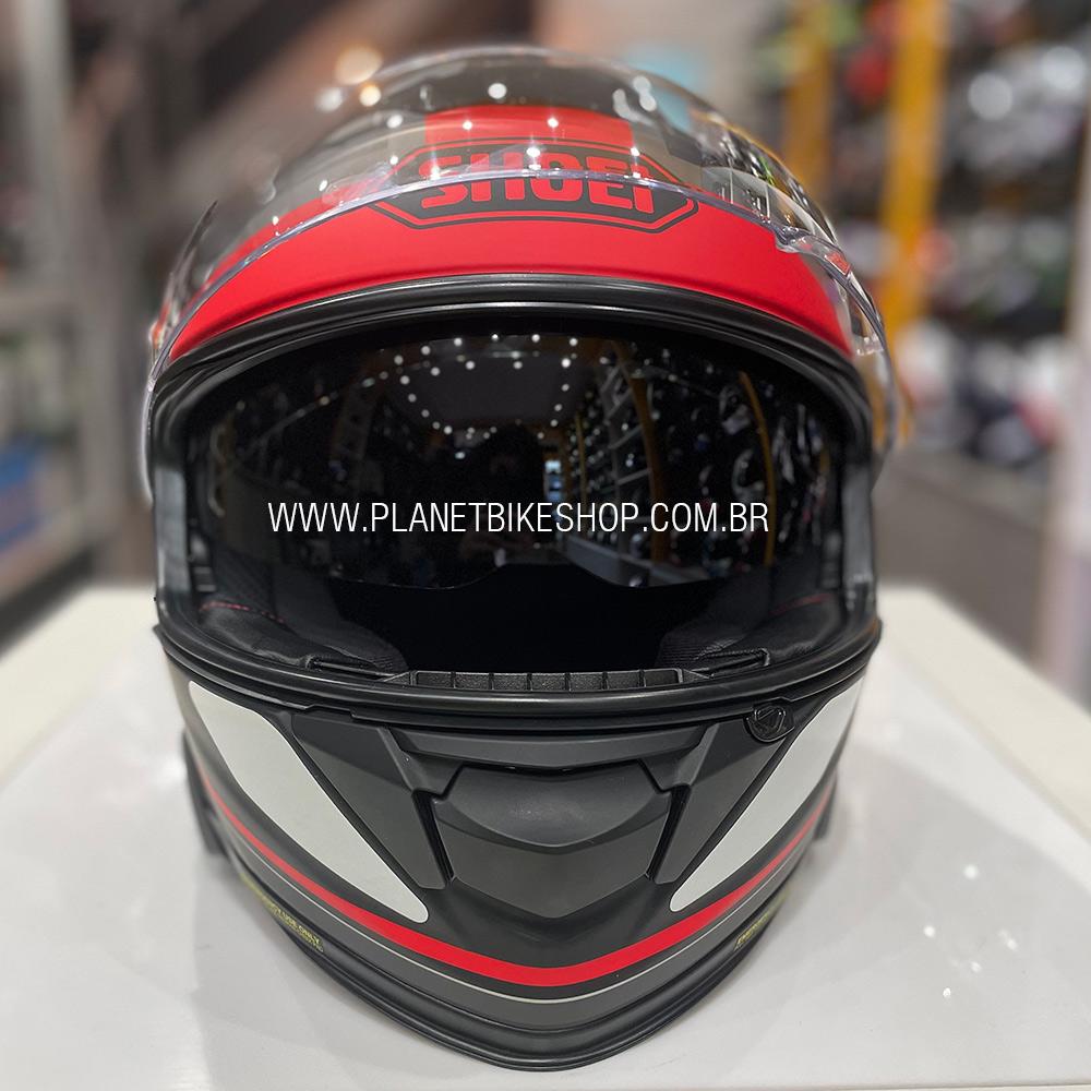 Capacete Shoei GT Air II Affair TC-1 C/ Viseira Solar - Lançamento 2019  - Planet Bike Shop Moto Acessórios