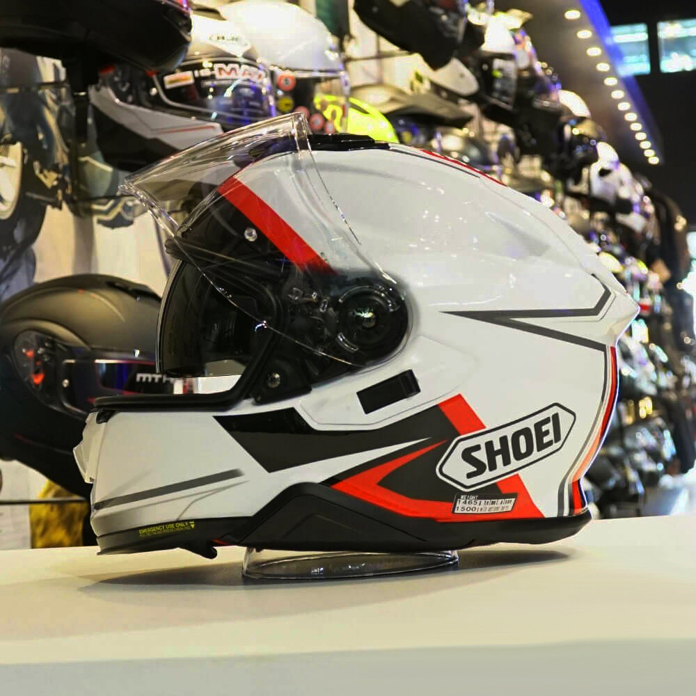 Capacete Shoei GT Air II Affair TC-6 C/ Viseira Solar - Lançamento 2019  - Planet Bike Shop Moto Acessórios