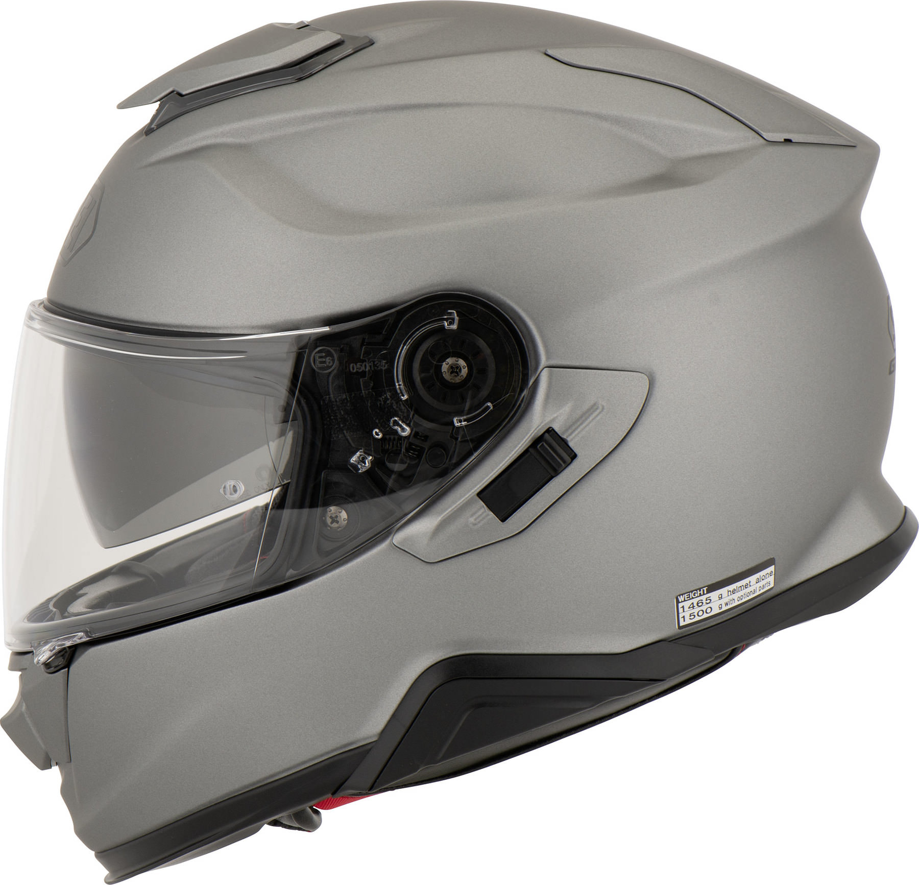 Capacete Shoei GT-Air II - Cinza Fosco - C/ Viseira Solar  - Planet Bike Shop Moto Acessórios