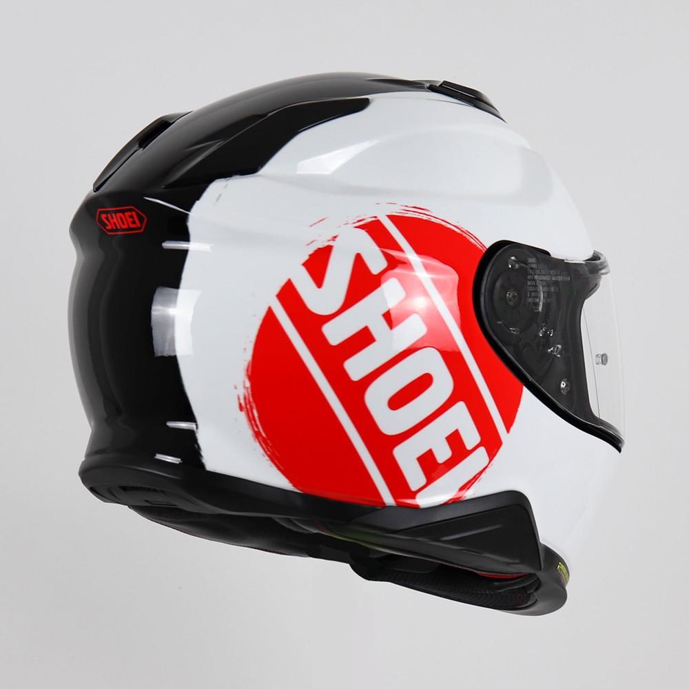 Capacete Shoei GT-Air II Emblem TC-1 - Preto/Branco/Vermelho - C/ Viseira Solar - Lançamento 2020  - Planet Bike Shop Moto Acessórios