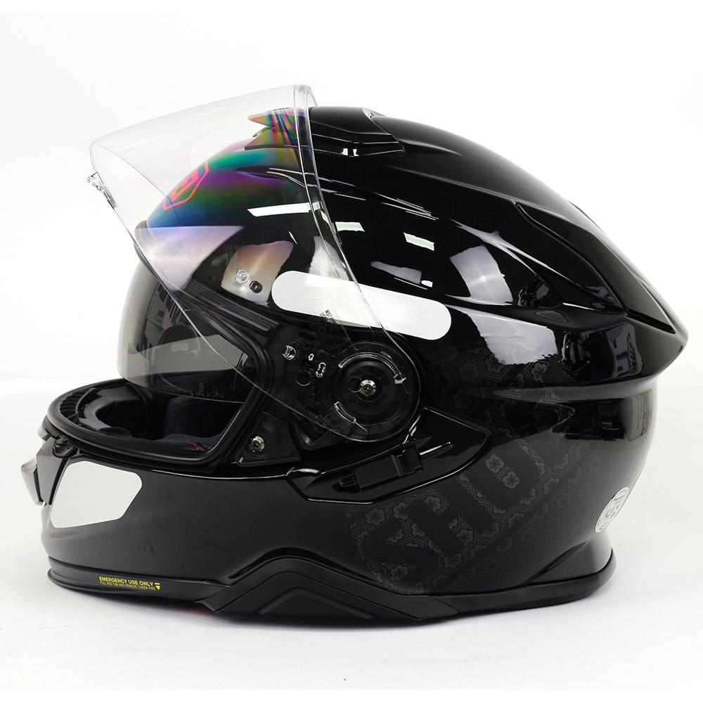 Capacete Shoei GT Air II Emblem TC-1 - Preto/Branco/Vermelho - C/ Viseira Solar - Lançamento 2020  - Planet Bike Shop Moto Acessórios