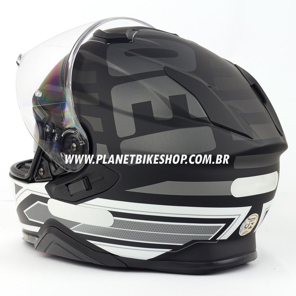 Capacete Shoei GT-Air II Insignia C/ Viseira Solar  - Planet Bike Shop Moto Acessórios