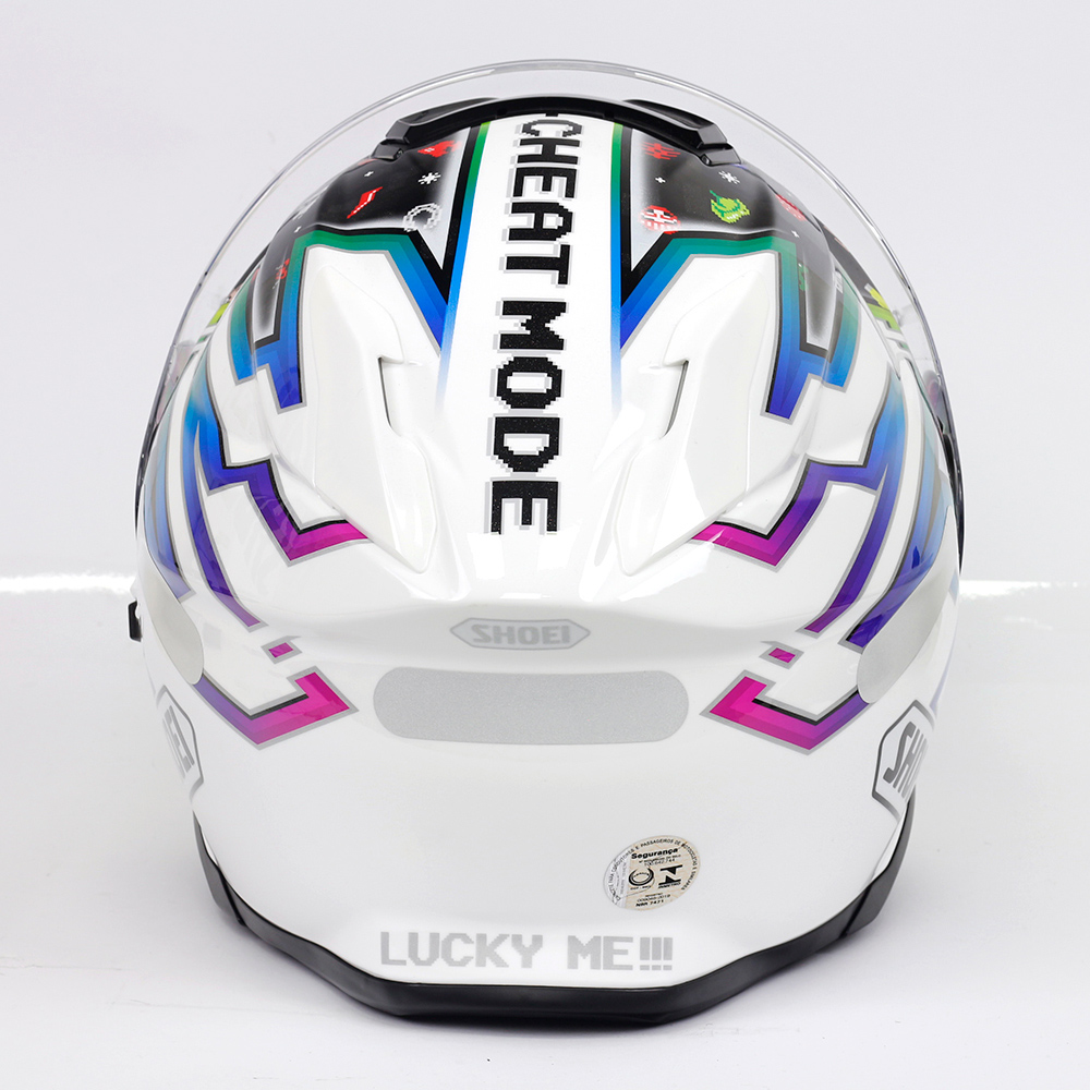 Capacete Shoei GT Air II Luck Charms TC-10 - C/ Viseira Solar  - Planet Bike Shop Moto Acessórios