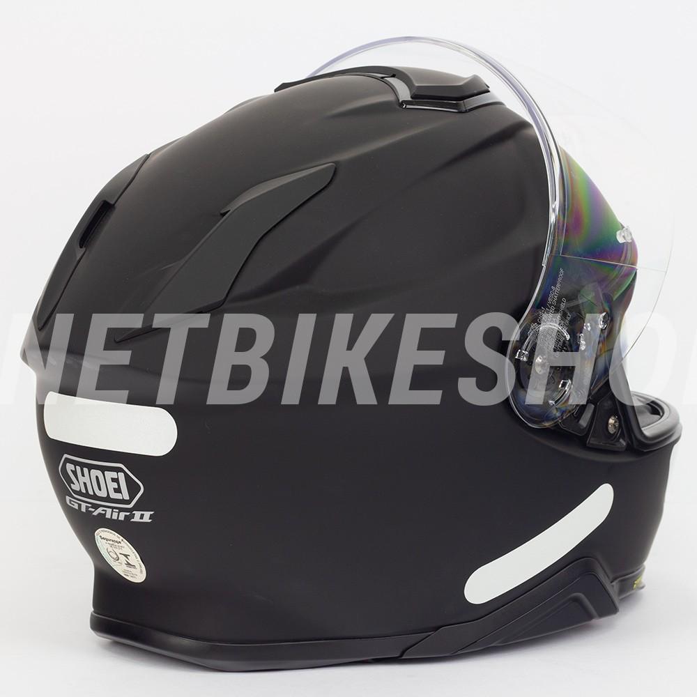 Capacete Shoei GT-Air II Matte Black C/ Viseira Solar - Lançamento 2019  - Planet Bike Shop Moto Acessórios