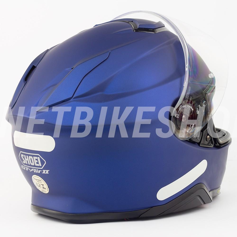Capacete Shoei GT-Air II Matte Blue C/ Viseira Solar  - Planet Bike Shop Moto Acessórios