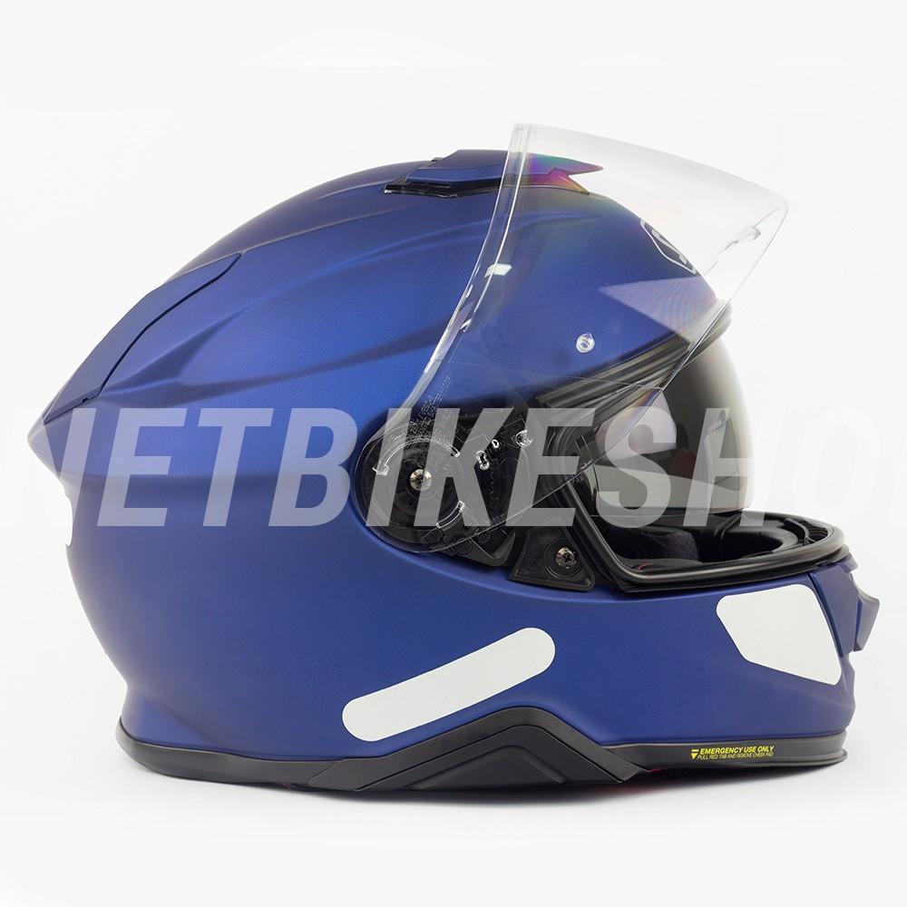 Capacete Shoei GT-Air II Matte Blue C/ Viseira Solar - Lançamento 2019  - Planet Bike Shop Moto Acessórios