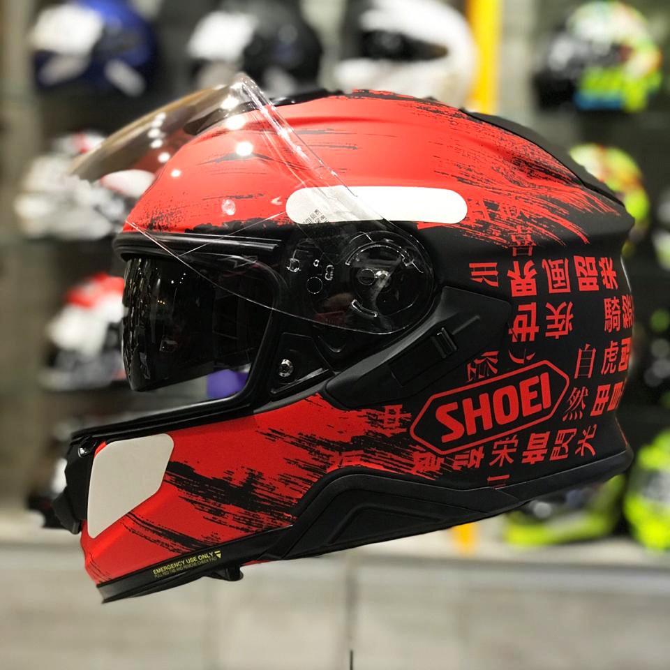 Capacete Shoei GT-Air II Ogre TC-1 C/ Viseira Solar   - Planet Bike Shop Moto Acessórios