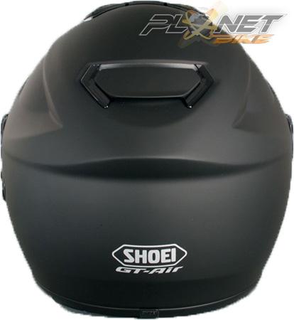 Capacete Shoei GT-Air Preto Fosco com Pinlok e Viseira Solar  - Planet Bike Shop Moto Acessórios