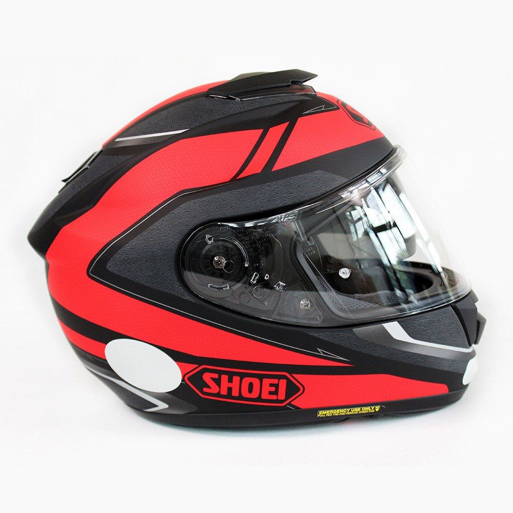 CAPACETE SHOEI GT-AIR SWAYER TC-1 com Pinlok e Viseira Solar - SuperOferta  - Planet Bike Shop Moto Acessórios