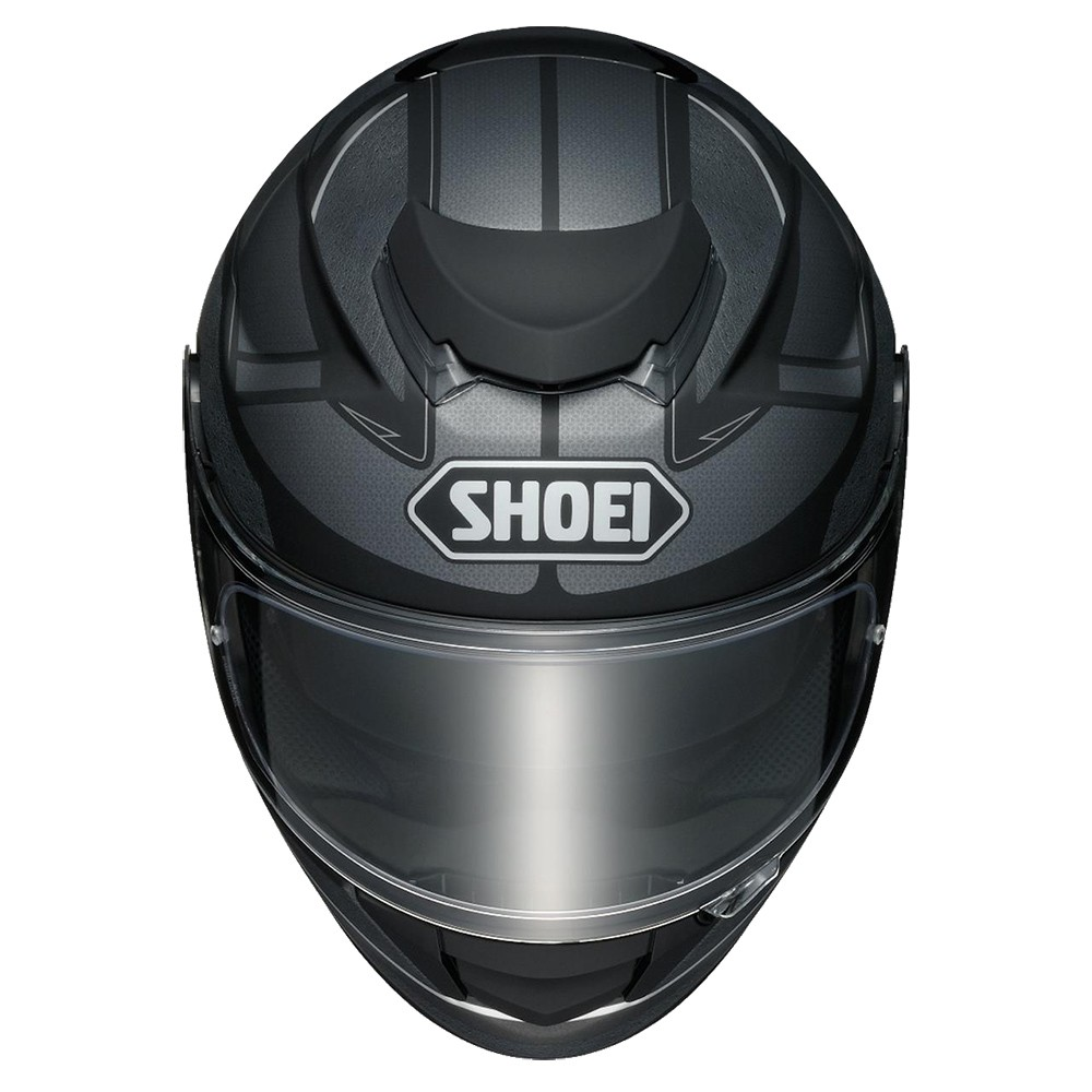 Capacete Shoei GT-AIR Swayer TC-5 (Preto / Cinza) Com Anti-Embaçante  - Planet Bike Shop Moto Acessórios