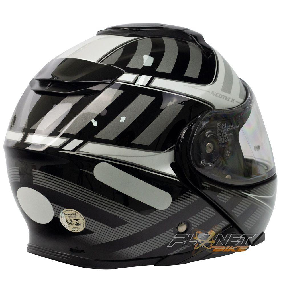Capacete Shoei Neotec 2 Splicer TC-5 Grey Escamoteável - LANÇAMENTO   - Planet Bike Shop Moto Acessórios