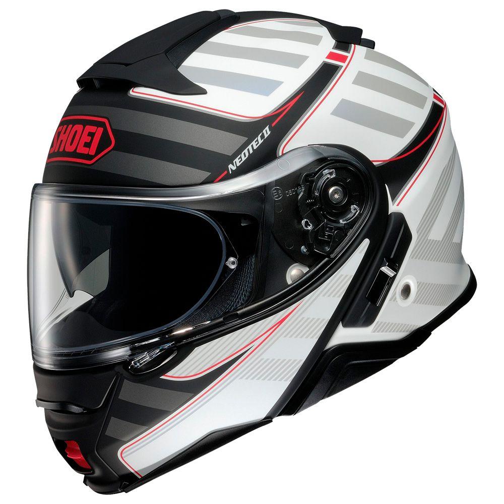 Capacete Shoei Neotec 2 Splicer TC-6 Red Escamoteável - LANÇAMENTO   - Planet Bike Shop Moto Acessórios