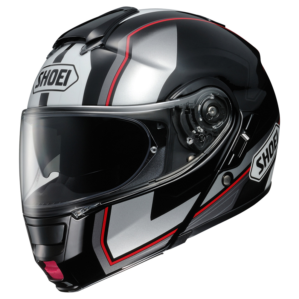 Capacete SHOEI Neotec Imminent TC-5 Cinza Brilho  (Escamoteável)
