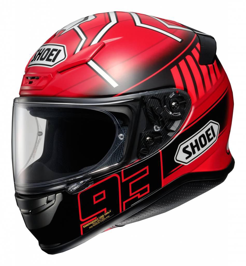 Capacete Shoei NXR Marc Marquez 3 Replica TC-1 - NOVO!