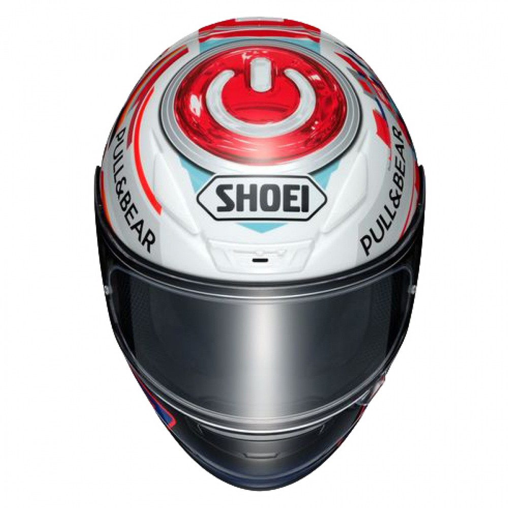 Capacete Shoei NXR Power Up Marc Marquez TC-1   - Planet Bike Shop Moto Acessórios