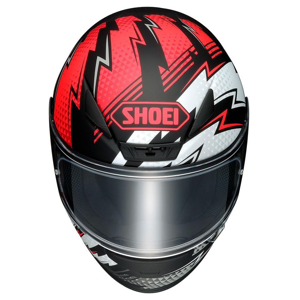 Capacete Shoei NXR Variable TC-1 - Lançamento  - Planet Bike Shop Moto Acessórios