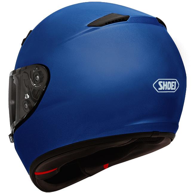 Capacete Shoei Ryd Blue Matt Com Pinlock Anti-Embaçante   - Planet Bike Shop Moto Acessórios