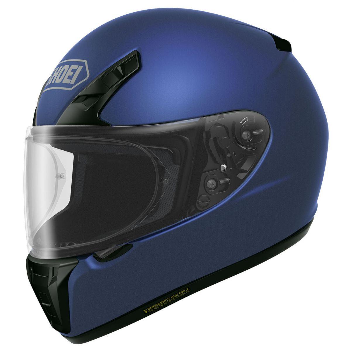 Capacete Shoei Ryd Blue Matt Com Pinlock Anti-Embaçante - NOVO!  - Planet Bike Shop Moto Acessórios