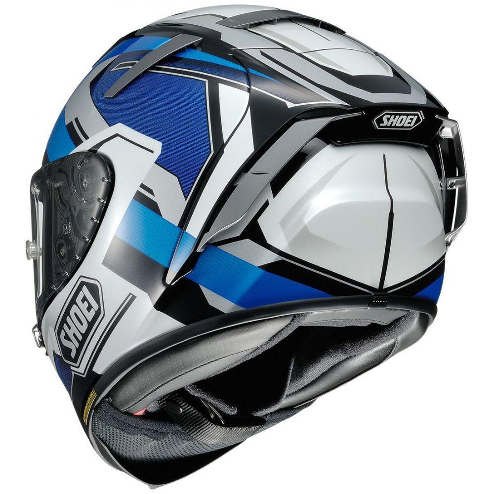 Capacete Shoei X-Spirit III Brink TC-2 (X-FOURTEEN)   - Planet Bike Shop Moto Acessórios