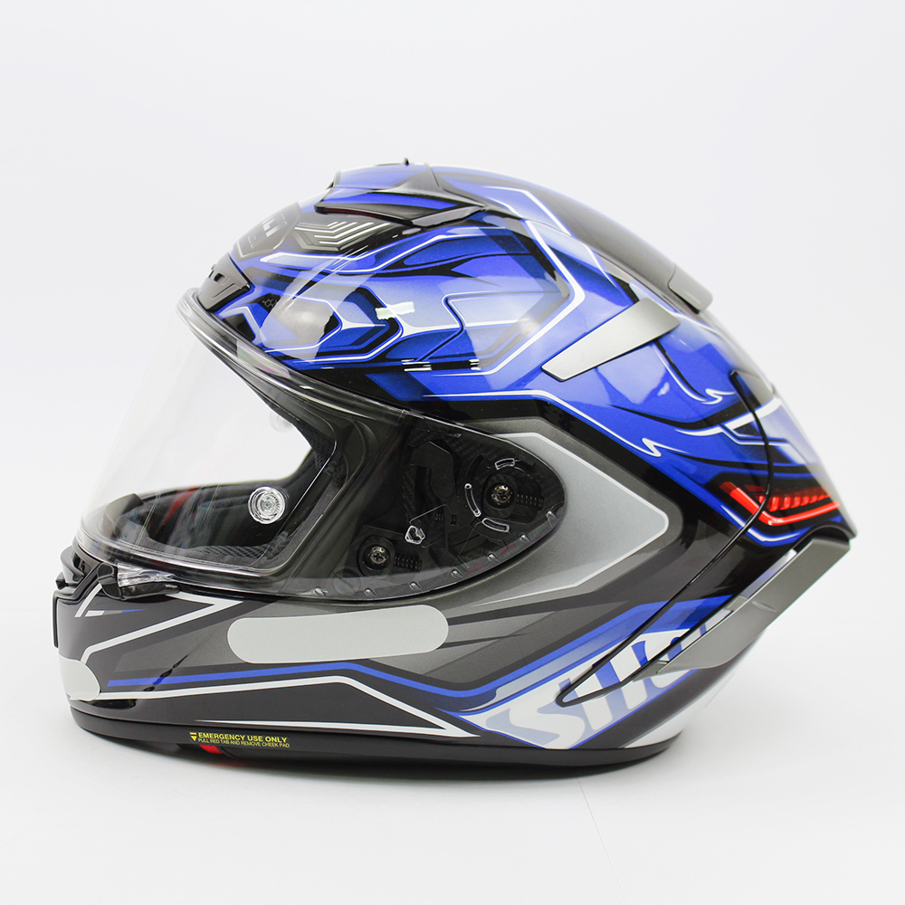 Capacete Shoei X-Spirit III Aerodyne TC-2 - Azul/Preto (X-FOURTEEN)  - Planet Bike Shop Moto Acessórios