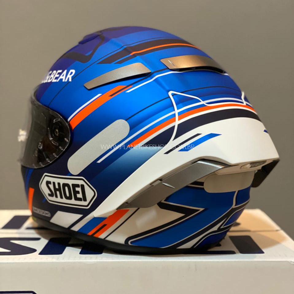Capacete Shoei X-Spirit III Alex Marquez AM73 Azul Replica (X-fourteen)  - Planet Bike Shop Moto Acessórios