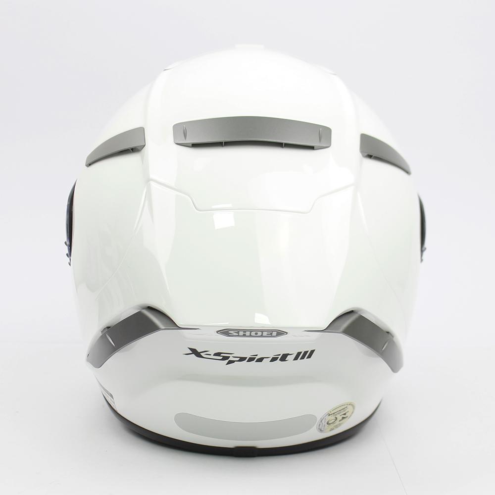 Capacete Shoei X-Spirit III Branco (X-FOURTEEN)  - Planet Bike Shop Moto Acessórios