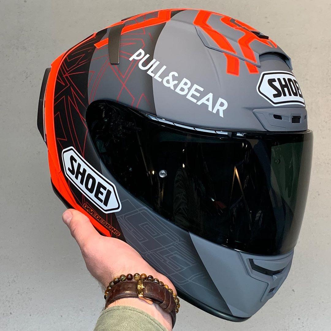 Capacete Shoei X-Spirit III Marc Marquez Replica Concept 2 (X-fourteen)  - Planet Bike Shop Moto Acessórios