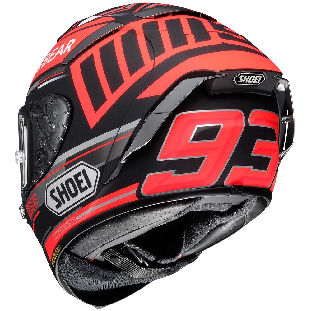 Capacete Shoei X-Spirit III Marc Marquez Replica TC-1 Concept (X-fourteen)  - Planet Bike Shop Moto Acessórios
