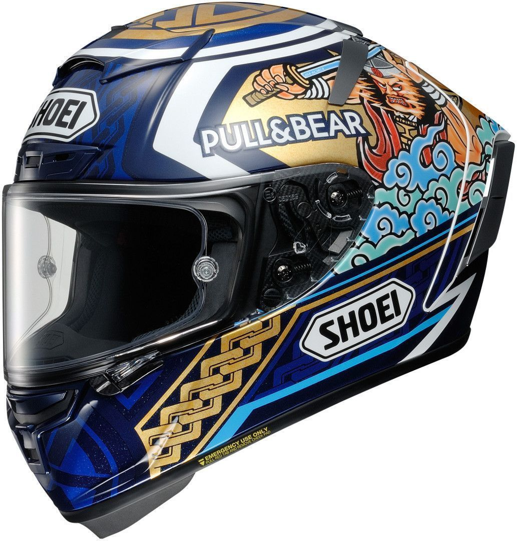Capacete Shoei X-Spirit III Motegi 3 Replica TC-1 (X-fourteen)  - Planet Bike Shop Moto Acessórios