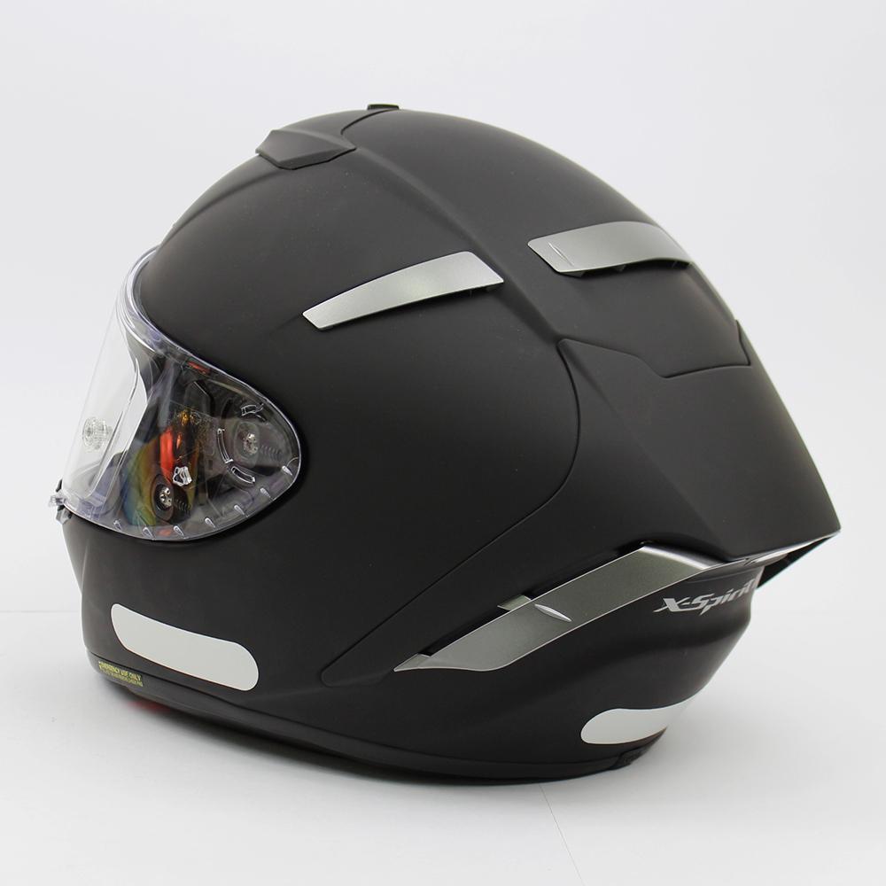 Capacete Shoei X-Spirit III Preto Fosco (X-FOURTEEN)  - Planet Bike Shop Moto Acessórios