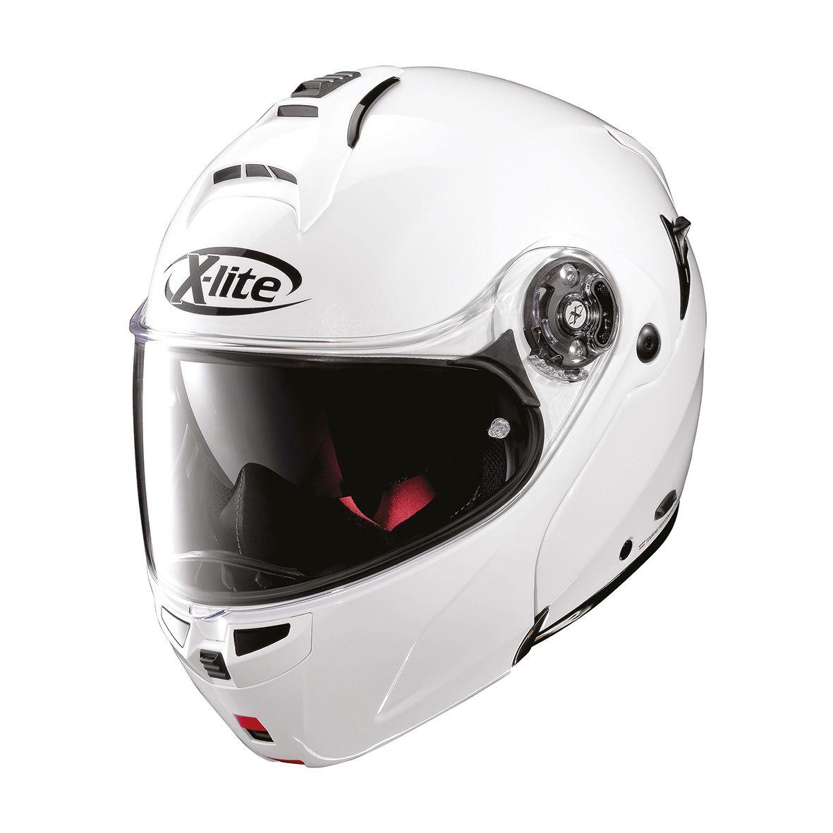 Capacete X-Lite X-1004 Elegance - Branco  - Planet Bike Shop Moto Acessórios