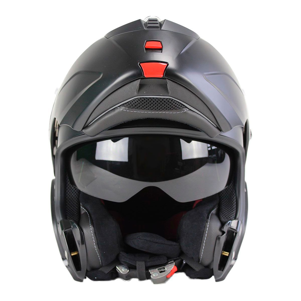 Capacete X-Lite X-1004 Elegance - Preto/Fosco  - Planet Bike Shop Moto Acessórios
